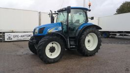 farm tractor New Holland T6010