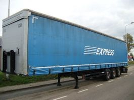 sliding curtain semi trailer Kögel S24-1   XL tuv-nord  13.90 m  STANDAARD+SAF DISK+2 x in stock 2014