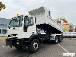 tipper truck Iveco Full steel - Manual - Mech pump - Hydr. door 1998