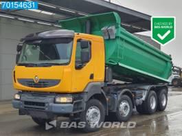 tipper truck Renault Kerax 410 8X4 Manual Big-Axle Steelsuspension 2007