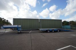 semi lowloader semi trailer MTD K 3 AXLE SEMI LOW LOADER WITH RAMPS 2012