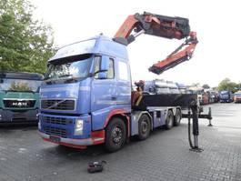 heavy duty tractorhead Volvo FH 12 500 8X4 Kran Palfinger 90 T/M 2004