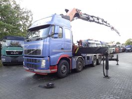 crane truck Volvo FH 12 500 8X4 Palfinger PK 90002 bis 31.5 Meter 2004