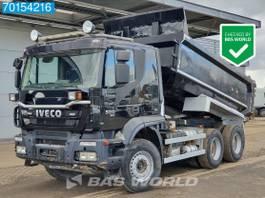 tipper truck Iveco Trakker 500 6X4 500HP Intarder Big-Axle Steelsuspension EEV 2013