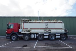 vacuum truck Scania P380 10X4 VACUUM AND BLOW TANK WITH OUT PUMP 2009