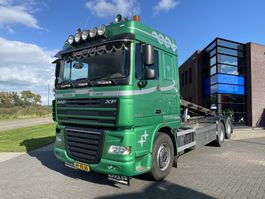 chassis cab truck DAF XF105.460 Spacecab / Manual / Euro 5 / Full Steel / 10 Tires 2007