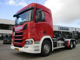 container truck Scania R410 NGS B6x2*4NA Haakarm 2019