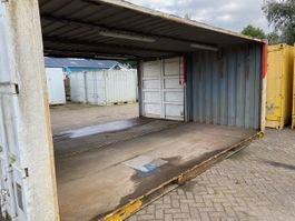 dry standard shipping container 20ft open containers