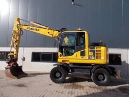 wheeled excavator Komatsu PW148-8 Rototilt & full options 2011
