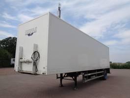 closed box semi trailer Groenewegen DRO-10-10 B 1999