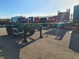container chassis semi trailer Renders N2SG21P Container chassis 20ft. / Steel suspension 1998