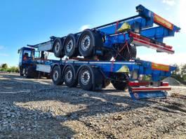 container chassis semi trailer D-TEC CC4045 2020