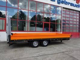 lowloader trailer Möslein TTT-11 6,20 Orange Neuer Tandemtieflader 2021