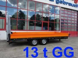 lowloader trailer Möslein TTT 13- 6,28 Orange Neuer Tandemtieflader 13 t GG 2021