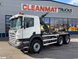 container truck Scania P400 6x4 Manual Full Steel 2010