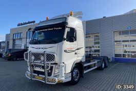 chassis cab truck Volvo FH 13 Globetrotter, Euro 5, // Steel - Air // Automatic // 6x2 2010