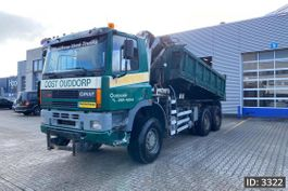 crane truck Ginaf 3331 Day Cab, Euro 2, // Manual / /Full steel // Big axles // Hub reduct... 2000