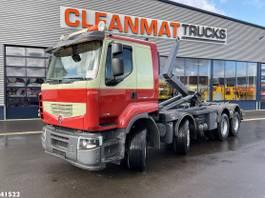 container truck Renault Premium Lander 460.32 8x4 2012
