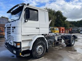container truck Scania 113M360 **FULL STEEL SUSPENSION-FRENCH TRUCK-TOP** 1990