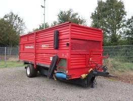 walking floor semi trailer Feedo 80-18 Futter Verteilanhänger 2016
