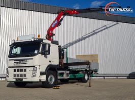 platform truck Volvo FM 330 Effer 14TM Kraan, Crane, Kran, Grue - 1.500 kg Laadklep, Loadlift 2012
