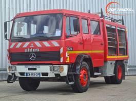 fire truck Mercedes-Benz 1524 Brandweer, Feuerwehr, Fire brigade - Dubble cabin, mannschaftskabin... 1995