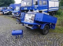 other car trailers Andere 57/4 Feldküchenanhänger 57/4 Feldküchenanhänger, Ex-THW 1983