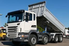 tipper truck Scania G420 Kipper 8x4 Retarder Scheckheft Kamera E5 2012