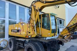 crawler excavator Terex 1404 ZW Mobilbagger Zweiwegebagger 20 Tonnen 2007