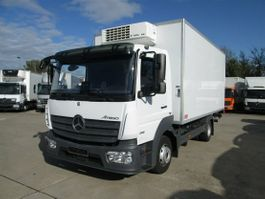 refrigerated van Mercedes-Benz Atego 818 L Kühlkoffer 5 m LBW 1 to.*THERMOKING 2017