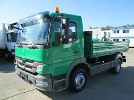 tipper truck Mercedes-Benz Atego 1224 K Kipper 4m MEILLER*AHK*Kipphydraulik 2012