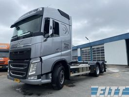 container truck Volvo FH 460 FH460 6x2 - 20ft container aansluiting - ev icm 1990 Burg 3 ass ahw 2013
