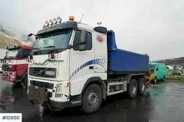 tipper truck Volvo FH 520 6x4 Tipper truck. Steel suspension. New gear 2007