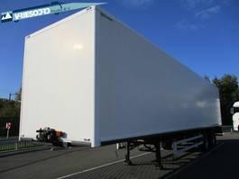 closed box semi trailer Pacton TBZ.230 2006