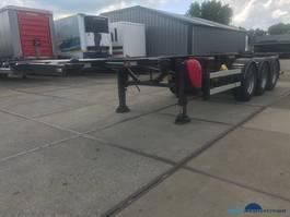 container chassis semi trailer Van Hool ankcontainer 20/30 ft ADR APK TuV nieuw 1995