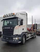 timber truck Scania R500 V8 6X4, + Epsilon M110L80, 2016 *incoming* 2013