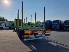 timber semi trailer Mega HOLZTRANSPORTER 2014