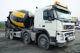 camião betoneira Volvo FM 380 8x2*4, Euro 5, Mixer 9m3, 2006, *incoming* 2006