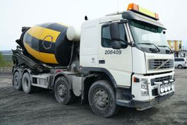 camion à bétonnière Volvo FM 380 8x2*4, Euro 5, Mixer 9m3, 2006, *incoming* 2006