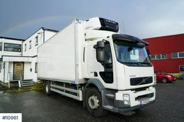 box truck Volvo FL 290 4x2 with cool/ freezer. 18 pallet 2012