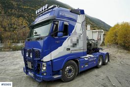 cab over engine Volvo FH750 6x4 tractor Ocean Race XXL cabin w/hydraulic 2012