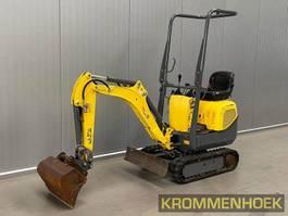 mini digger crawler WACKER NEUSON 803 2014
