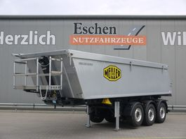 tipper semi trailer Meiller MHKA 44.2, 27m³ Alumulde 2021