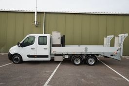 other lcv's Renault DCI 165 CLICKSTAR BE COMBI CAR AND MACHINE TRANSPORTER 2018