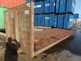 Flachcontainer Vernooy laadvloer 8274