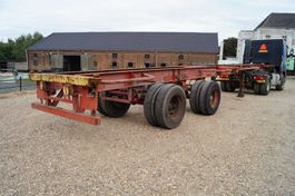 container chassis semi trailer 2-assige oplegger 1978