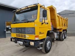 tipper truck Volvo FL10 320 6x6 - big dumper tipper 1997