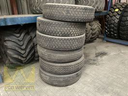 tyres truck part Michelin XDE 12R22.5 Regrouvable