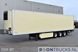 refrigerated semi trailer Krone SD + CARRIER VECTOR 1850Mt | MULTITEMP * TAIL LIFT * LIFT AXLE 2012