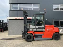 forklift Kalmar DCE 80-9HE Heftruck Kalmar DCE 80-9HE Duplo 375 Sideshift/vorkversteller Diesel 2012 2012
